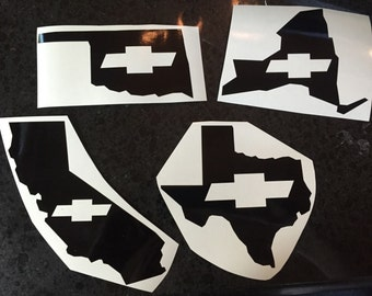Silverado Decal Etsy - Chevy silverado stickers