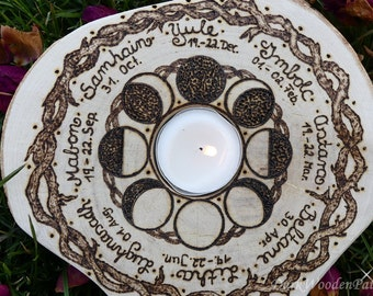 Wheel of the year ~ Celtic branches ~ pagan wheel