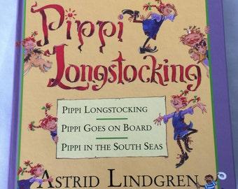 Pippi Longstocking: The Adventures of Pippi Longstocking by Astrid Lindgren