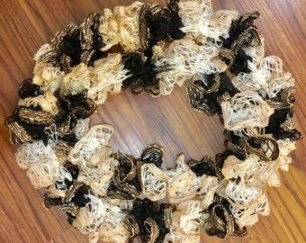 Sashay Ruffle Infinity Scarf