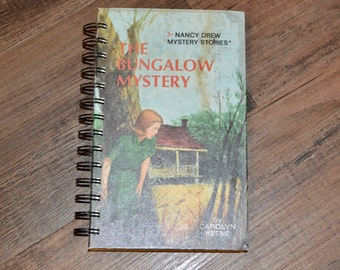 Nancy Drew Recycled Notebook