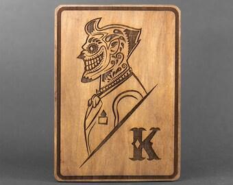 Joker Day of the Dead Card