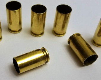 9mm Brass 250 ct Cleaned Tumbled Polished