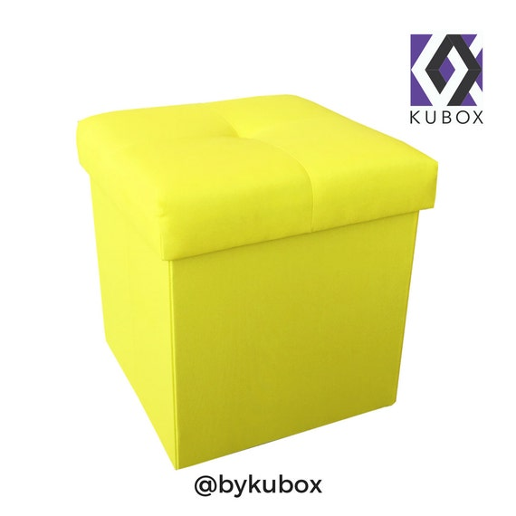 Details. This beautiful custom upholstered storage ottoman ... - Pouf Ottoman Storage Ottoman Square Box Square Ottoman