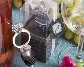 Wine Stopper, Bottle Stopper Diamond Ring