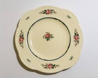 Beautiful antique flower plate