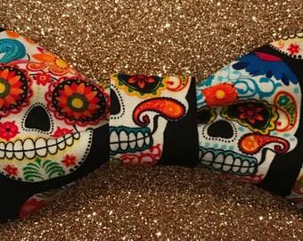 Dia De Los Muertos/ Day of the Dead Bow