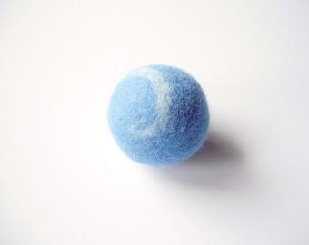 1 rattle ball, big rattle ball felt for cats, felted, felt, color choice, cats