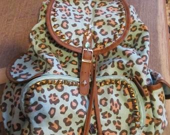 Cheetah Minnie backpack!