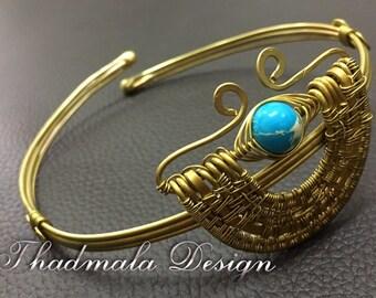 brass wires armlet