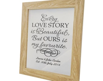 Quote Art - Wedding Frame