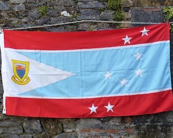Top Notch Tuvalu Flag! Pacific Ocean Flag.