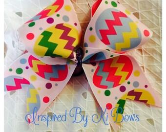 Easter Cheer Bow Easter Egg