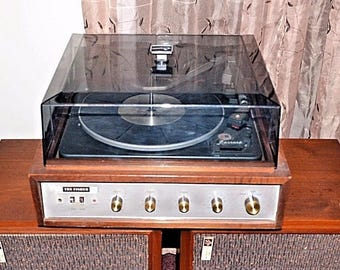 Fisher Model 85 Vintage Music Center Stereo Turntable