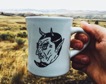 Devil In The Decaf Diner Mug