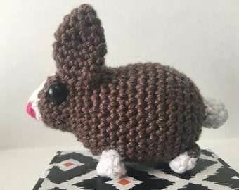 Crochet bunny - amigurumi toy baby bunny rabbit