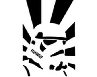 STORM TROOPER inspired Quality Vinyl Decal; Car Decal, Yeti Decal, Gifts for Him, Gifts for her, Fandom Art, Star Wars Decals!!!