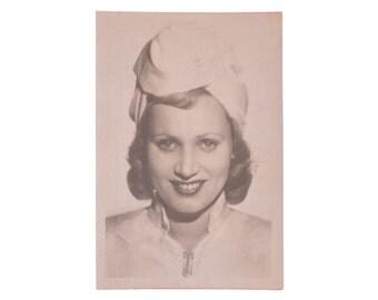 Vintage Postcards USSR Collection Actress Smirnova 1953