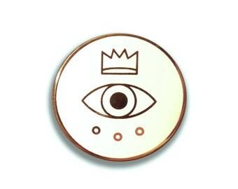 Royal Circle Enamel Pin