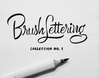 Custom Brush Lettering