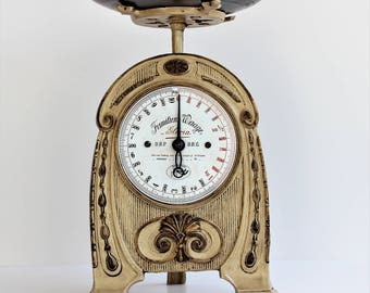 Kitchen Scale/Steinfeldt & Blasberg/1913'/Museum Piece/Kitchen Weighing Scales/Rustic Scale