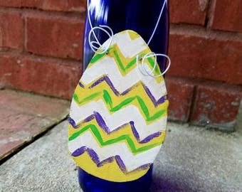 Easter door hanger, Easter decor, Easter egg door hanger, spring decor, Easter egg door decor, spring door hanger, knob decor, door handle