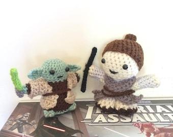 Custom made crochet doll