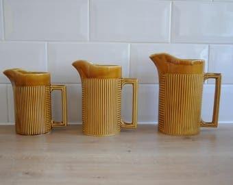 Set of Three Ellgrave Tiko Jugs