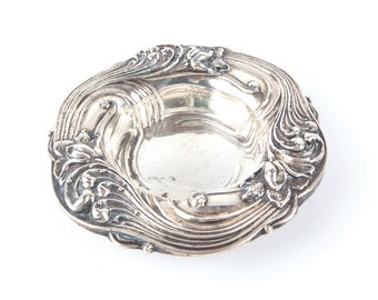 Antique Sterling Silver Small Candy Dish