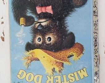 Mister Dog Little Golden Book children's book vintage reading toddler baby bedtime story