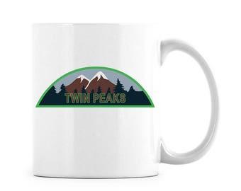 Twin Peaks TV Merch Twin Peaks Merch Twin Peaks TV Twin Peaks Coffee Twin Peaks Gift Twin Peaks Cup Twin Peaks Mug Twin Peaks TV Show