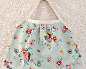 Granny bag - Yuwa fabric cotton / linen