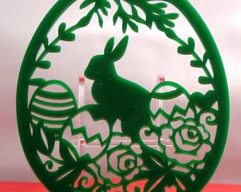 Easter Egg Shaped Acrylic