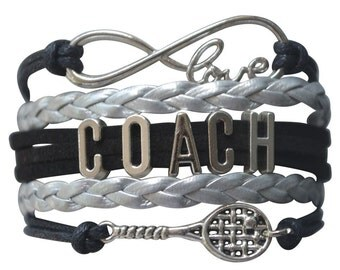 Tennis Coach Gift -Tennis Bracelet, Tennis Bracelet –Tennis Gift - Tennis - Perfect for Tennis Players, Tennis Coaches & Tennis Team Gifts