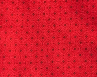 Red 100% Cotton for Sewing or Quilting