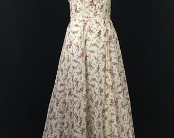 1970's Gunne Sax by Jessica Maxi Dress