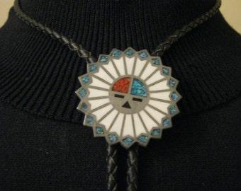 Vintage Hopi Sun Bolo