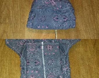 Newborn (5-11lbs) Fitted Cloth Diaper