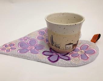 Love mug rug