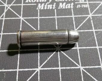 Rare Remington .44 Magnum Solid Sterling Silver Bullet Lapel Pin