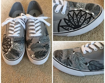 Hand-Painted Dream Catcher Shoes