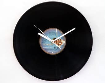 Boney M Vinyl Record Wall Clock