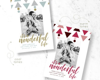 Wonderful Life Holiday Photo Cards