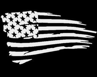 Tattered Flag Etsy