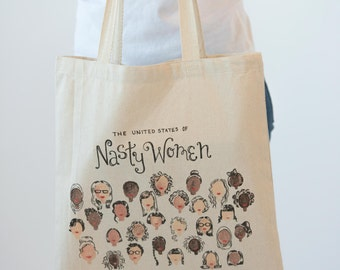 Nasty Women: Tote Bag
