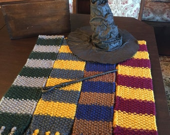 Slytherin : Fantastic Beasts (1920's) Inspired Hogwarts Slytherin House Scarf