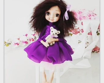 OOAK doll, Collectible Art doll