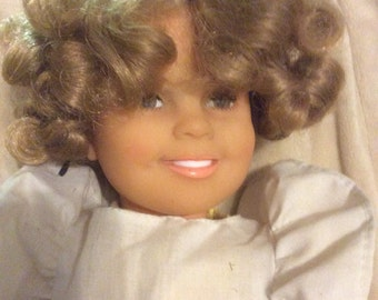 "Shirley Temple Ideal Doll 16"" 1970s America's Sweetheart Child Movie Star"