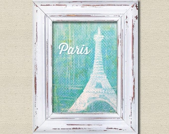 Printable Wall Art, Printables, French, Paris, Eiffel Tower, France, Travel, Impressionist, watercolor