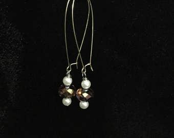 Crystal  elegant earrings